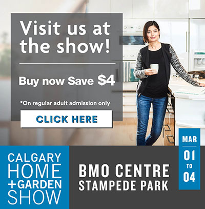 Visit us at the Home and Garden Show