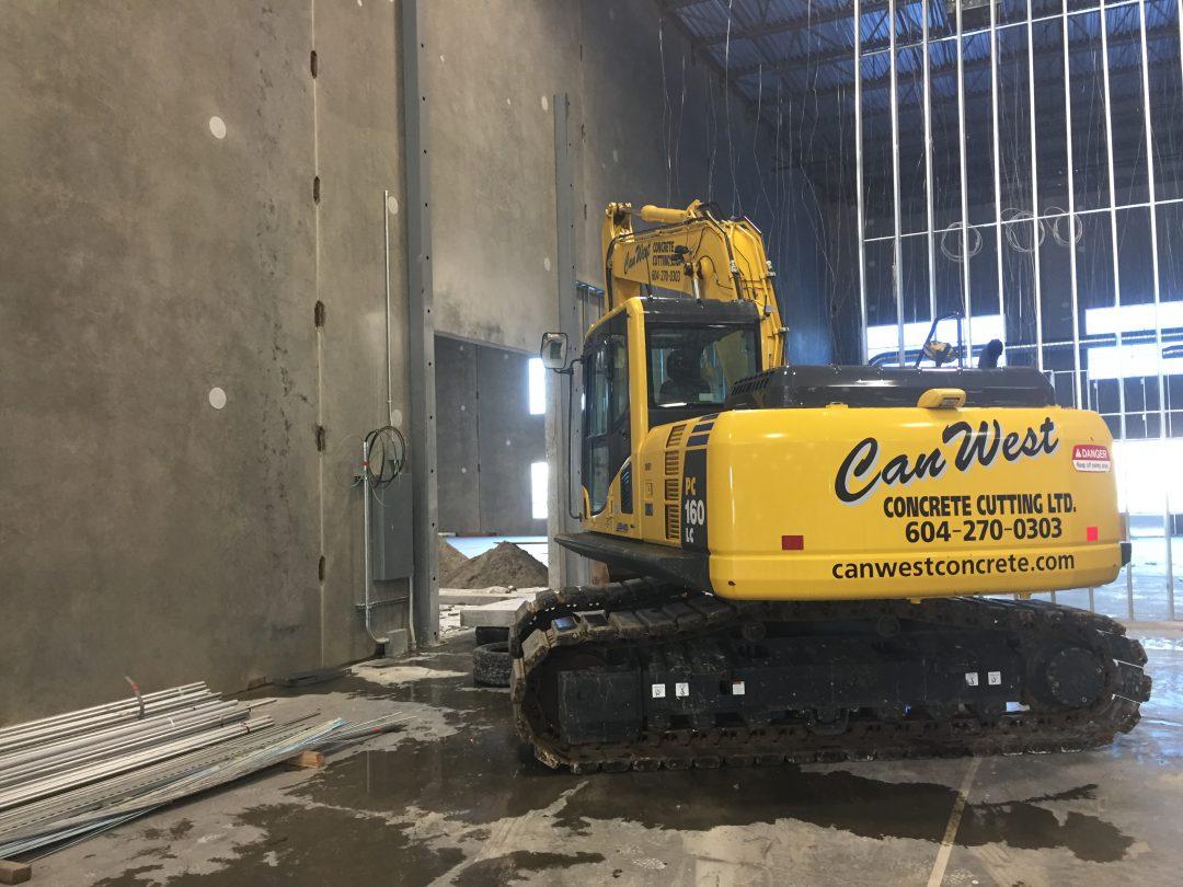 Concrete Wall Cutting Calgary Edmonton Canwest