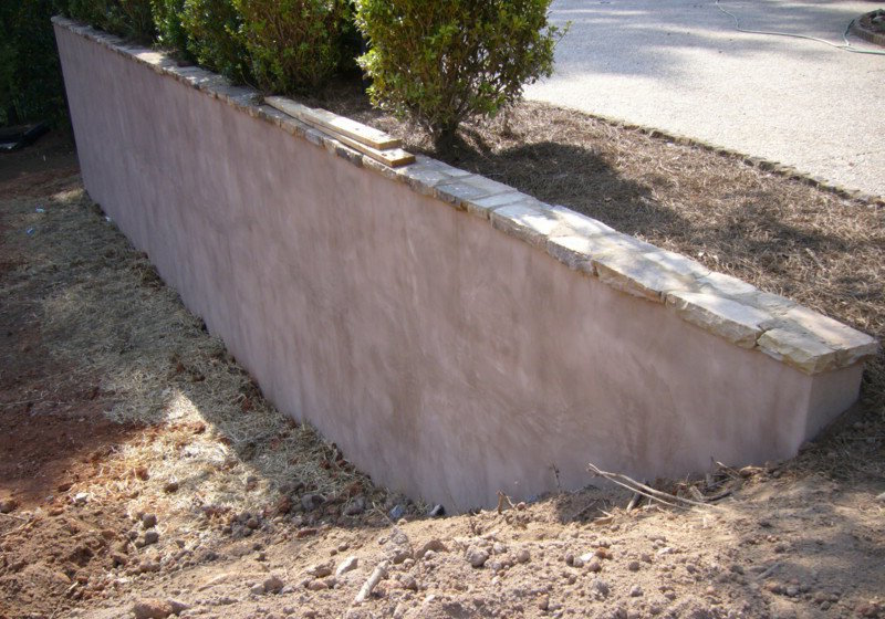 Concret Retaining Wall
